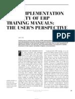 Judy Scott Training and Implementation