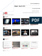 Gmail - Your Personal YouTube Digest - Sep 30, 2011
