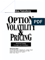Natenberg - Option Pricing and Volatility