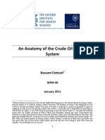 Anatomy of the Crude Oil Pricing System