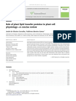 Role of Plant Lipid Transfer Proteins in Plant Cell