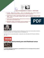 11-10-01 Occupy Wall Street, days 13-15 (September 29 – October 1)  - US-UK media split