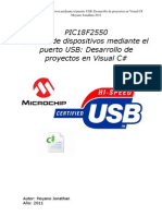 Control de Dispositivos Por USB