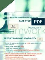 Re Positioning of Honda City
