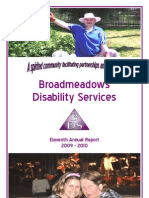 Broadmeadows Disability Services - Horticulture Therapy Program