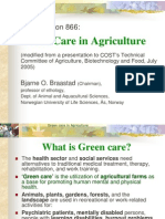 Green care in Agriculture