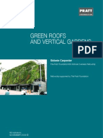 Green Roofs and Vertical Gardens