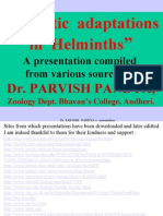 8 Parasitic Adaptations in Helminths