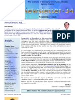 ICSI Mysore Newsletter Sept 2006