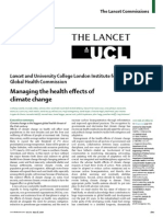 Managing the Health Effects of Climate Change