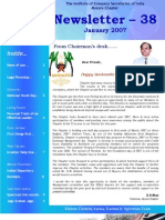 ICSI Newsletter January 2007