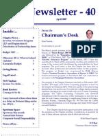 40 ICSI Mysore Newsletter April 07