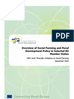 Overview of Social Farming and Rural Development