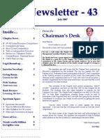 43 ICSI Mysore Newsletter July 2007