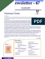 47 ICSI Mysore Newsletter November 2007