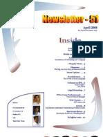 51 ICSI Mysore E-Newsletter April 2008