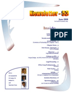 53 ICSI Mysore E-Newsletter June 2008