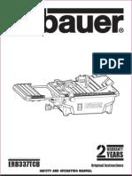 Ebauer Tile Cutter