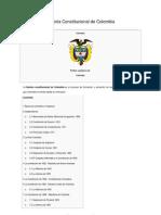 Historia Constitucional de Colombia