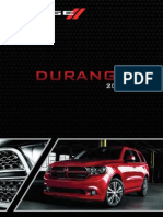 2012 Durango User Guide