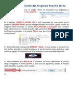 Guía para instalación de Programa Rosetta Stone