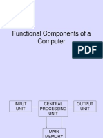 Functional Components of a Computer