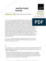Max Weber and the Social Sciences in America