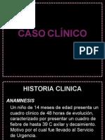 CASO CLÍNICO-RADIOLOGIA