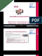Tekla BIM&Project Delivery Webinar 1-12-2010