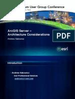 ERRI GIS Server - Architecture_considerations