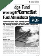 Hedge Fund Administrator Survey
