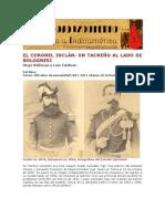 El coronel Inclán. Por Hugo Vallenas y Luis Zaldívar