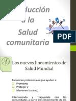 Presentación salud comunitaria
