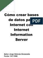 Cómo crear bases de datos para Internet