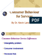3b. Consumer Behavior for Services