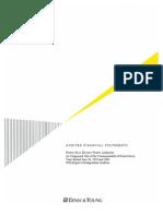Estados financieros auditados de la AEE para los años de 2009-2010