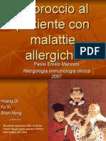 ALLERGIE approccio 2007