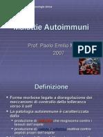 Autoimmunit e AEA 2007
