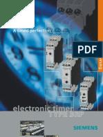 Siemens Timer Catalog