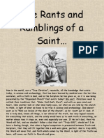 The Rants and Ramblings of a Saint...