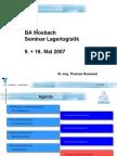 WPF Logistik - Lagerplanung - Teil2