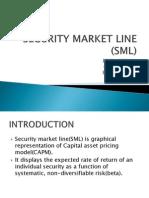 Security Market Line Sml