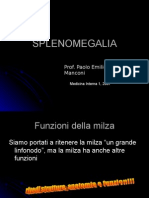 SPLENOMEGALIA 2007
