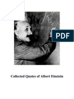 Collected Quotes of Albert Einstein