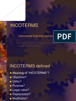 Incoterms Brief