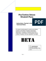 eBook - Wind Power - Savonius Generator Plans - Pico Turbine