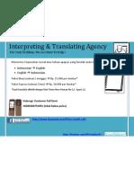 Interpreting Agency