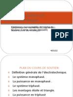 Cours de soutiens en électrotechnique