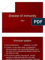 Disease of Immunity