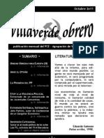 Villaverde Obrero - Número 4 - Octubre 2011